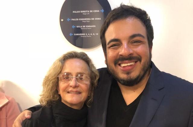Regina Braga e Luis Lobianco (Foto: Divulgação)