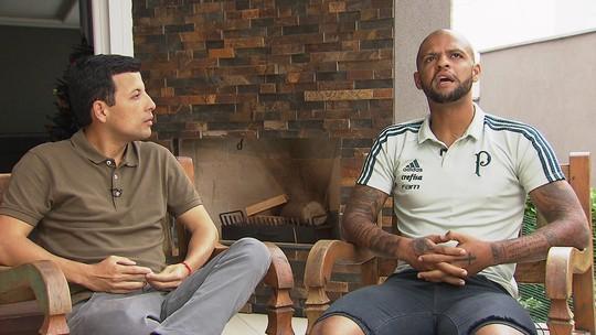 Felipe Melo abre sua casa para o GE e fala sobre polêmicas e futuro no Palmeiras