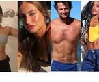 Luisa Arraes ganhou músculos para o filme 'Grande Sertão'; Bruna Griphao perdeu para 'Nos tempos do imperador', Marcelo Serrado perdeu 6kg para 'Cara e coragem' e Erika Januza perdeu o mesmo peso para 'Verdades secretas' | Reprodução/Instagram
