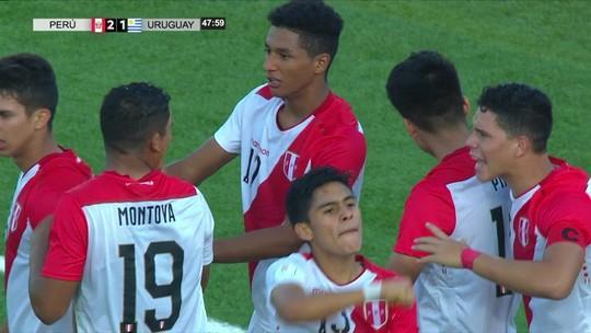 Peru vence no último minuto, elimina o Uruguai, mas vitória do Equador tira vaga no Mundial
