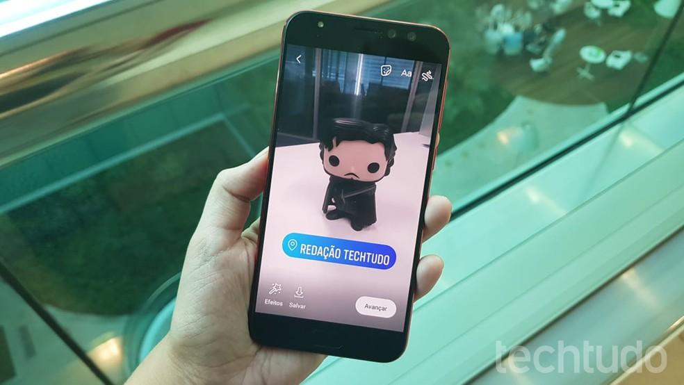 Aprenda a criar adesivos personalizados para o Instagram Stories — Foto: Ana Marques/TechTudo