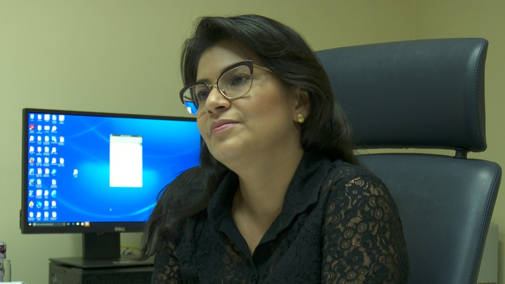 Promotora Joice Mota Azevedo disse que MP acionou a Justiça por conta da demora na demolição do antigo presídio (Foto: Rede Amazônica/Reprodução)