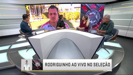 """Rodriguinho não descarta sair: """"Se for bom para o Corinthians e para mim, pode ser que sim"""""""