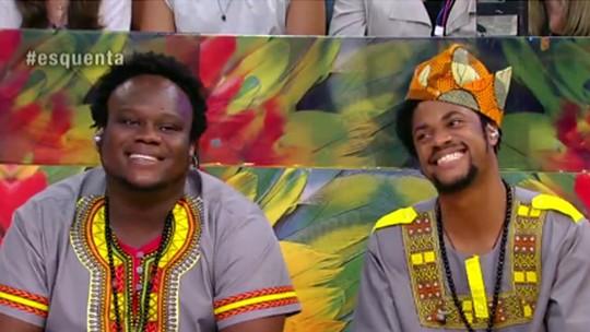 Dois Africanos comentam realização na carreira: 'Estamos vivendo do nosso sonho'