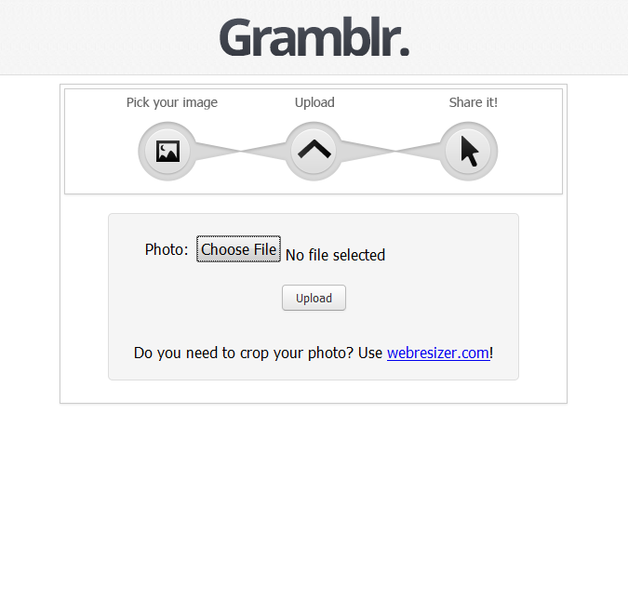 Gramblr | Download | TechTudo