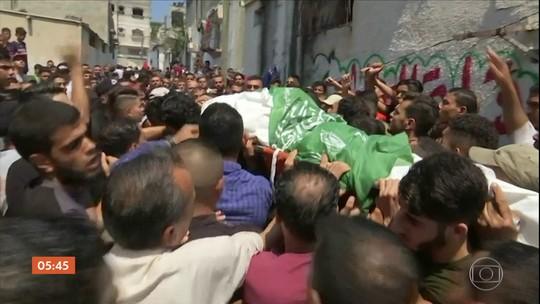 Três palestinos são mortos e um fica ferido por soldados israelenses na Faixa de Gaza