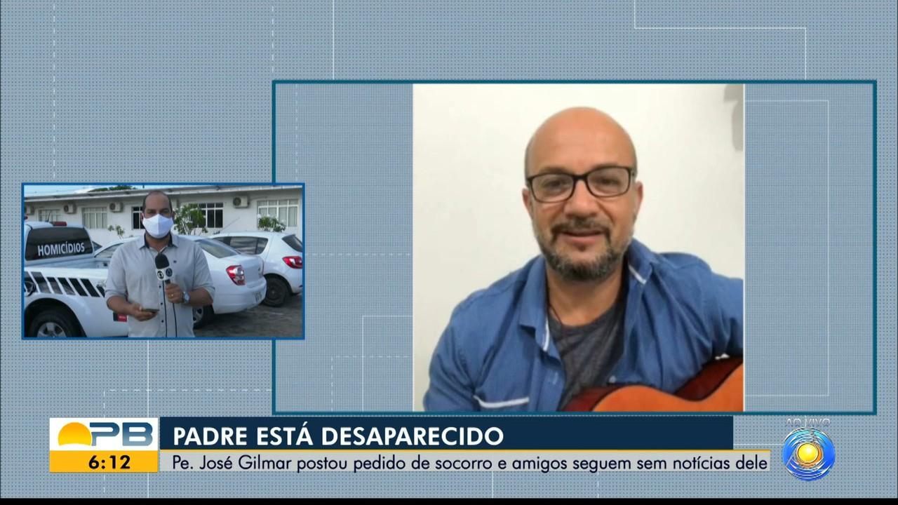Padre some e manda mensagem a amigo com pedido de socorro, na Paraíba