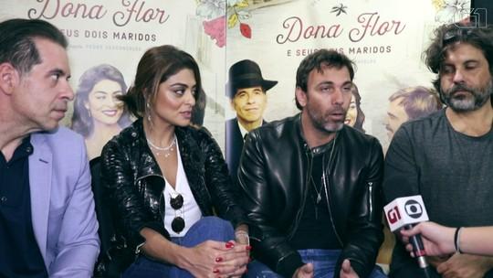 'Dona Flor e seus dois maridos' e suas teorias: Flor feminista? Vadinho inventado? Elenco comenta