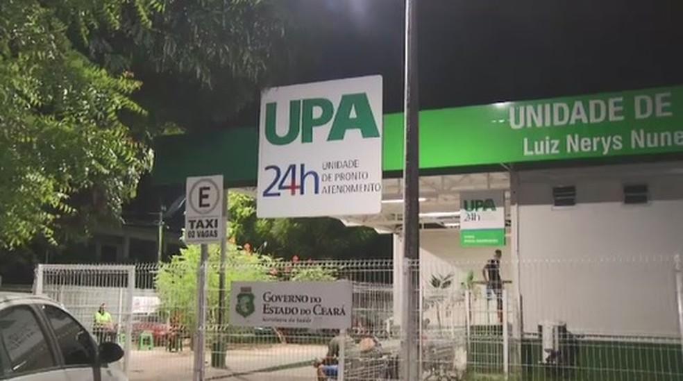 Vítima chegou a ser socorrida por familiares para a UPA, mas não resistiu. — Foto: Reprodução/SVM
