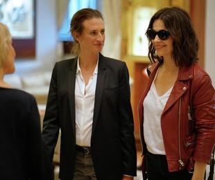 Juliette Binoche fecha temporada de 'Dix pour cent' (Divulgação)