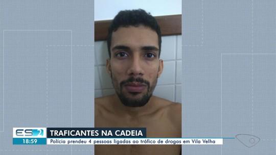 Suspeitos de tráfico de drogas são presos em Vila Velha, ES