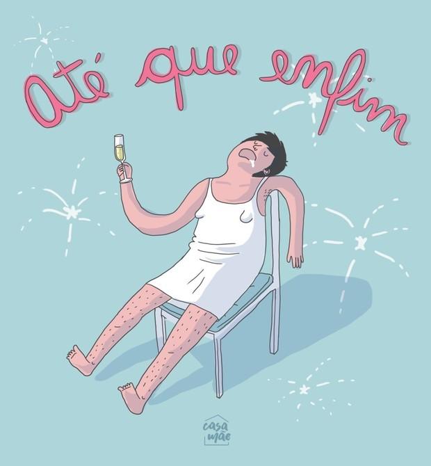 Thaiz Leão e a desromantização da maternidade (Foto: Reprodução Instagram)