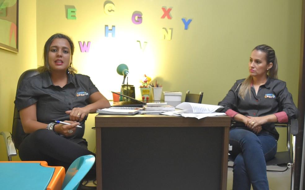 Psicopedagoga e coordenadora pedagógica da Escola Modulos trabalham a prevenção à violência desde o maternal (Foto: Paula Resende/ G1)