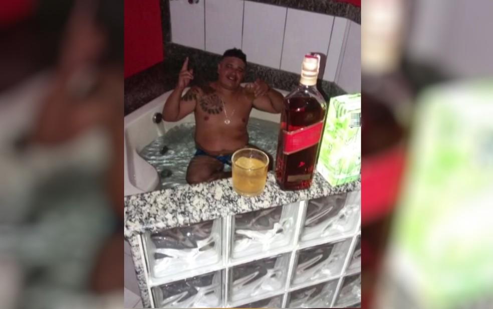 Antônio Lima Silva foi encontrado com comparsa em motel de Goiânia (Foto: TV Anhanguera/Reprodução)