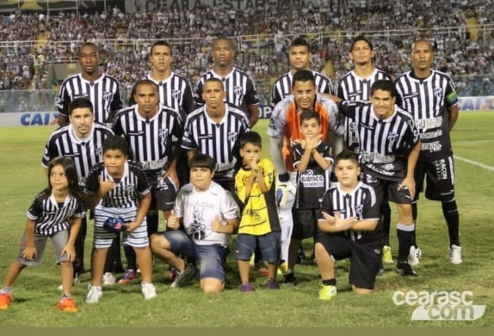 Geovani atuou no Ceará em 2013 — Foto: Arquivo pessoal/Geovani Monteiro