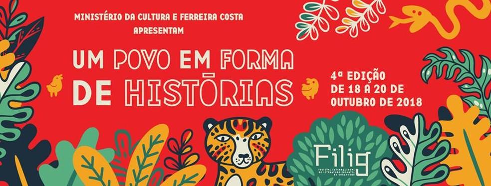 4ª edição do Festival Internacional de Literatura Infantil em Garanhuns — Foto: Assessoria/Divulgação