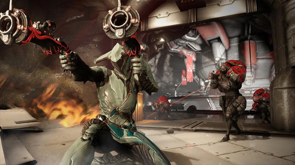 Warframe É Mais Um Dos Jogos Multiplayer Online Que Estará Disponível No Playstation 5 — Foto: Reprodução/Steam