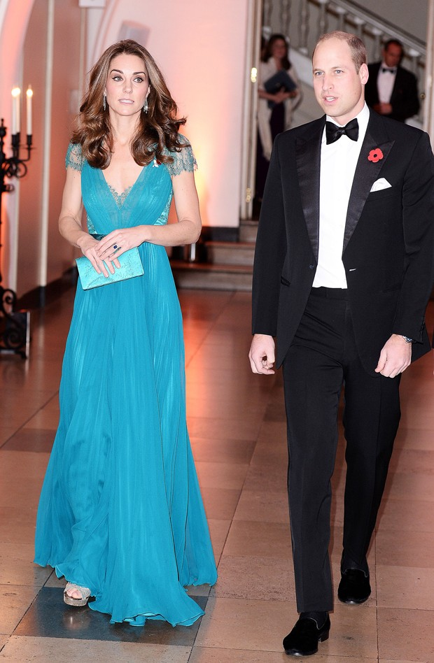 Kate Middleton e o príncipe William em evento em Londres (Foto: Getty Images)