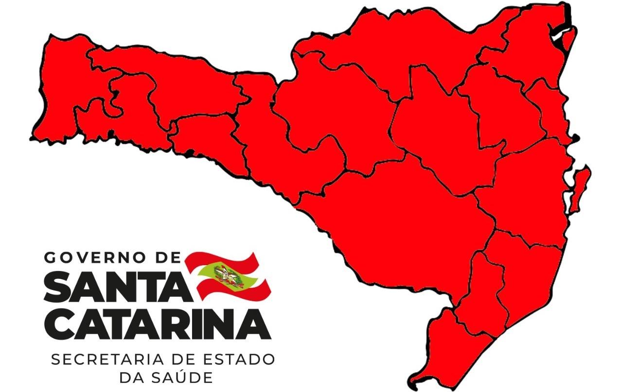 Em 24 horas, Santa Catarina confirma 3 mil casos e 54 mortes