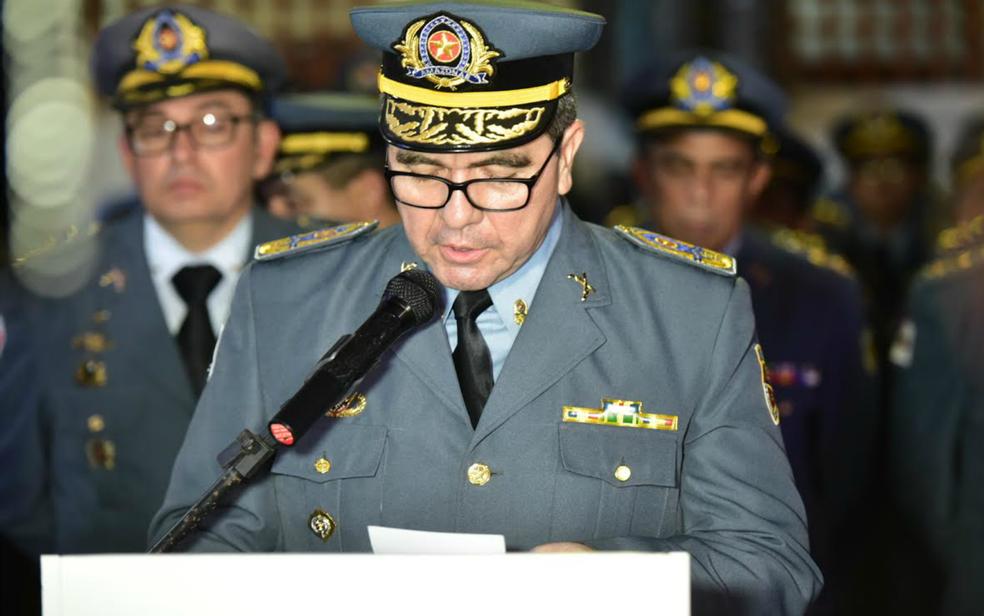 Coronel David Brandão  (Foto: Bruno Zanardo / Secom)