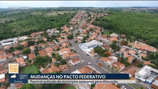 Possível extinção de municípios de MG preocupa prefeitos de Grupiara e Cascalho Rico