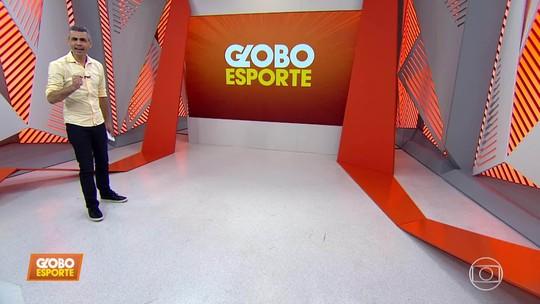 Primeiro bloco do Globo Esporte/MG, dia 22/08/2019