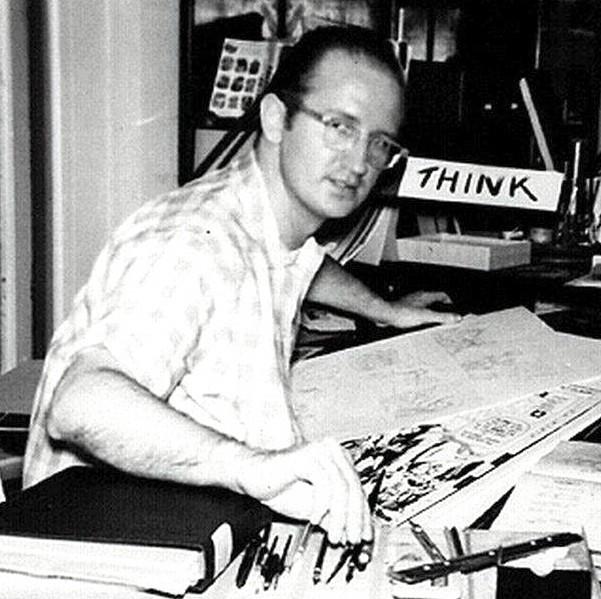 Steve Ditko criou o Homem-Aranha ao lado de Stan Lee (Foto: Imdb)