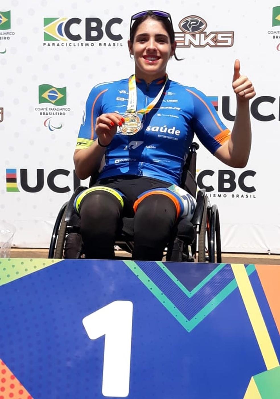 Mariana Garcia conquistou seu segundo título paulista — Foto: Divulgação