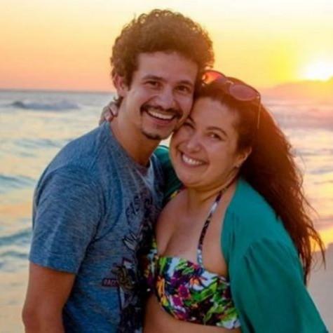 Mariana Xavier e o namorado, Diego Braga (Foto: Reprodução)