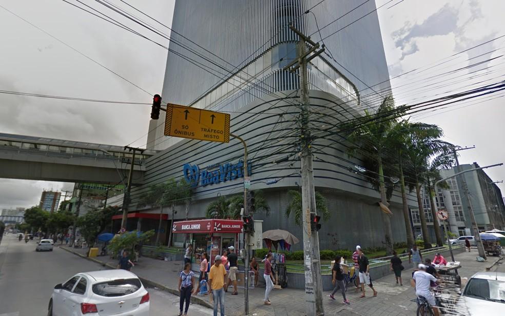 Shopping Boa Vista fica no centro do Recife (Foto: Reprodução/Google Street View)