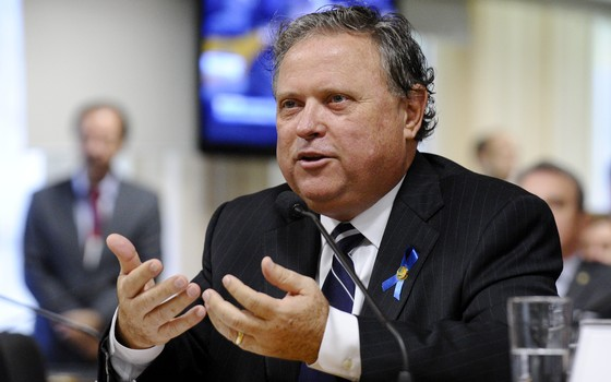 O ministro da Agricultura, Blairo Maggi (Foto: Edilson Rodrigues/Agência Senado)