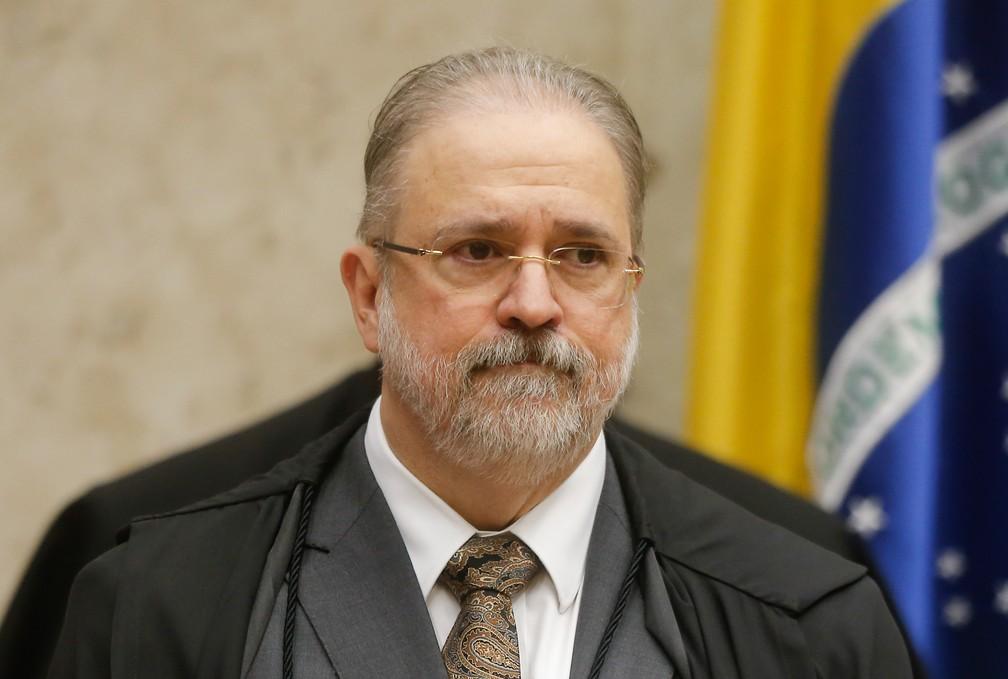 O procurador-geral da República, Augusto Aras — Foto: Dida Sampaio / Estadão Conteúdo