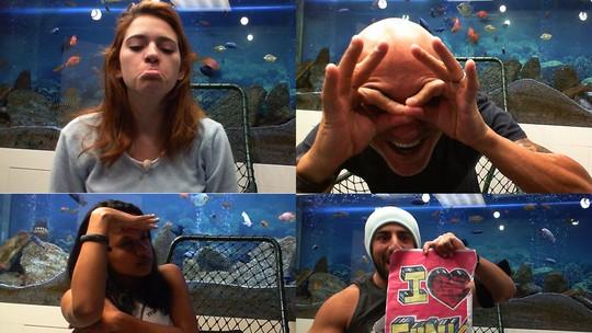 Final BBB18: Confira todas as selfies da Família Lima, Gleici e Kaysar