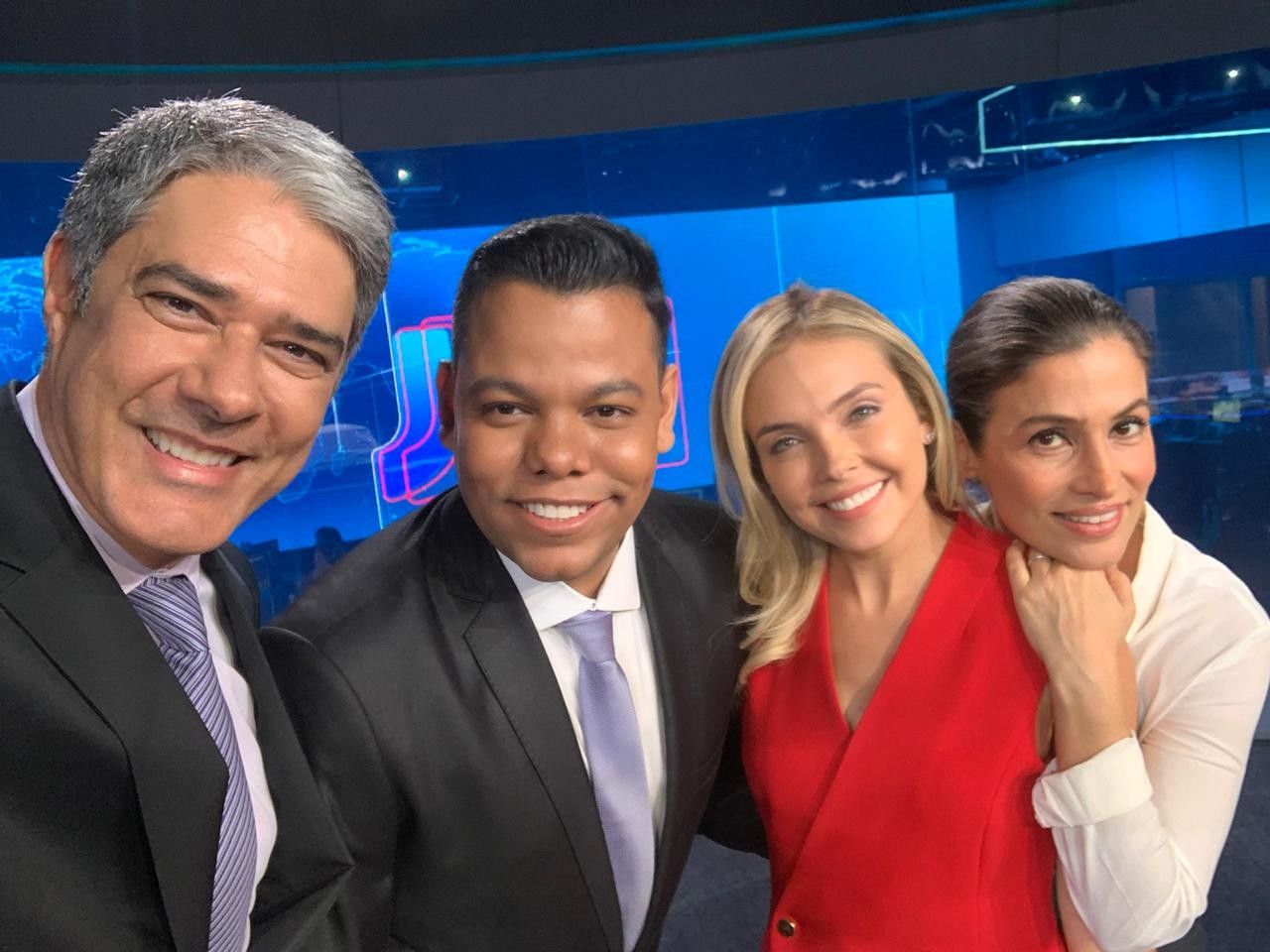 Thiago Rogeh apresenta o JN nesse sábado (19); telejornal será transmitido ao vivo em telão - Notícias - Plantão Diário