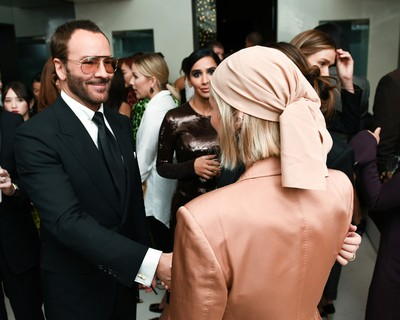 Tom Ford e Xenia Adonts