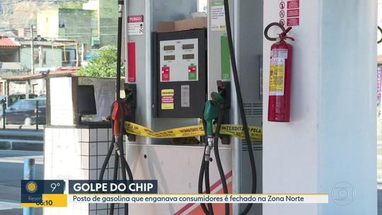 Posto de gasolina que engava consumidores é fechado na Zona Norte