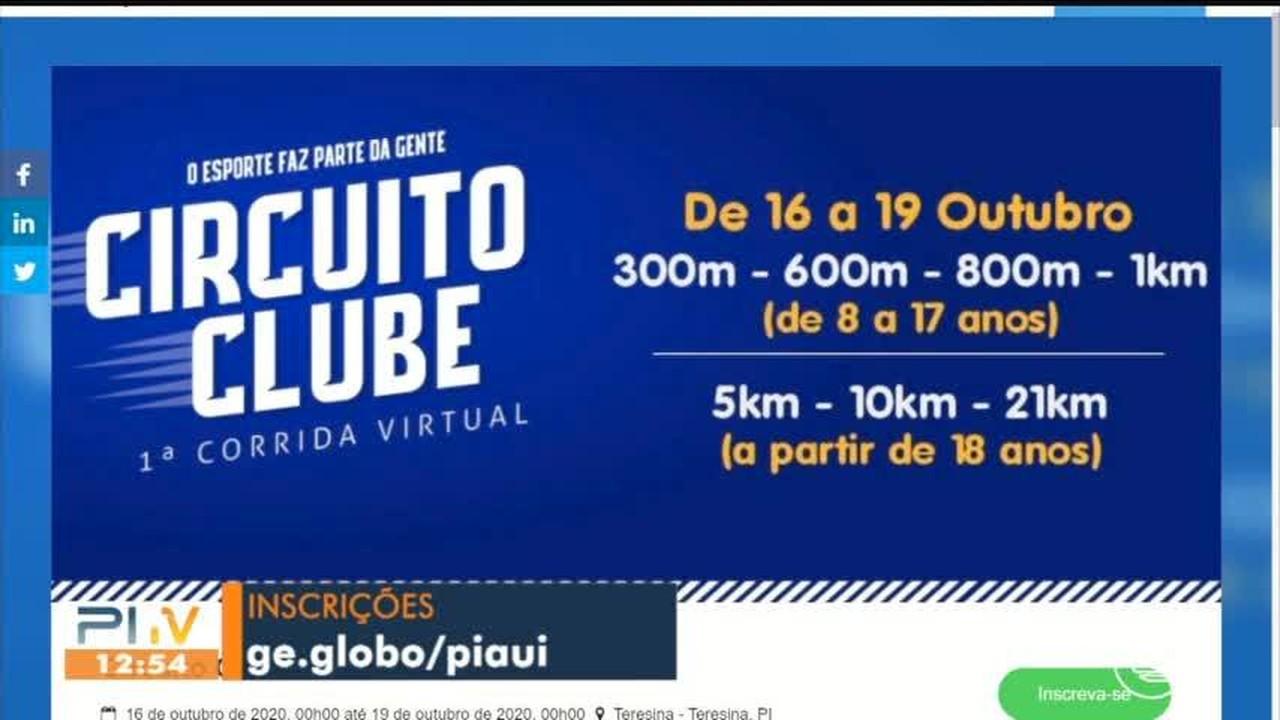 Circuito Clube Corrida Virtual abre novas vagas para competição