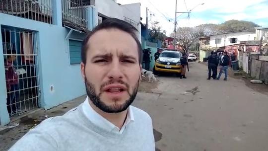 Vila das Torres de Curitiba é alvo de operação contra o tráfico de drogas