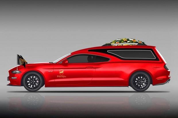 Ford Mustang funerário (Foto:  Divulgação)