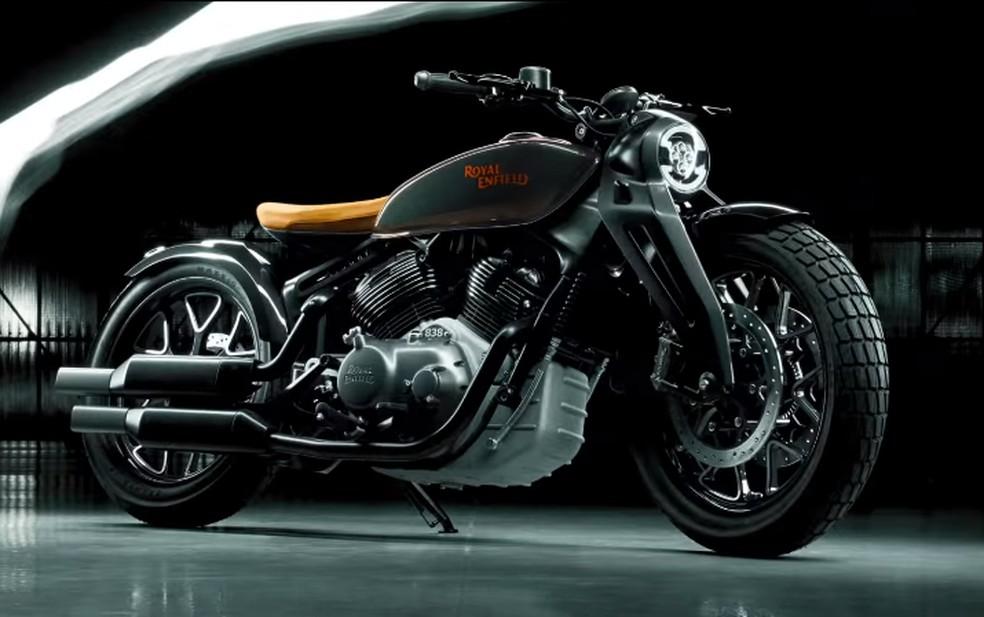 Royal Enfield KX Concept mostra como podem ser futuras motos da marca — Foto: Divulgação
