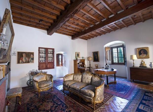 Casa onde viveu Michelangelo está a venda na Toscana (Foto: Reprodução)
