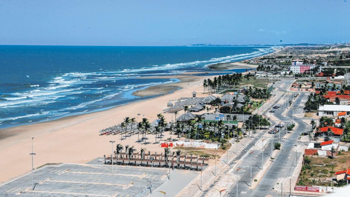 Pelo menos oito praias estão impróprias para banho em Fortaleza, diz Semace - G1