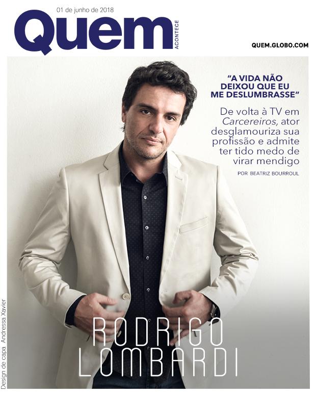 Rodrigo Lombardi Capa (Foto: Ramón Vasconcelos/ Design de Capa: Andressa Xavier)