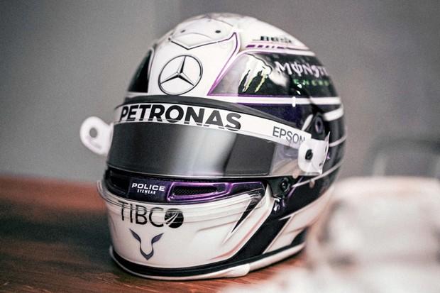 Capacete Lewis Hamilton  (Foto: Reprodução Instagram )