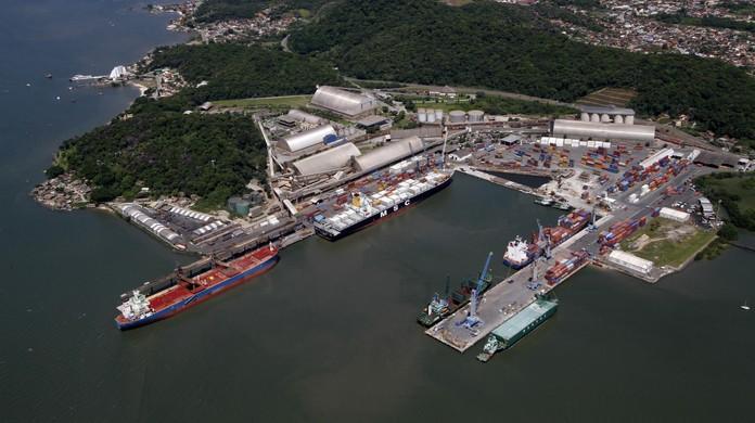 Resultado de imagem para porto público de São Francisco do Sul, em Santa Catarina
