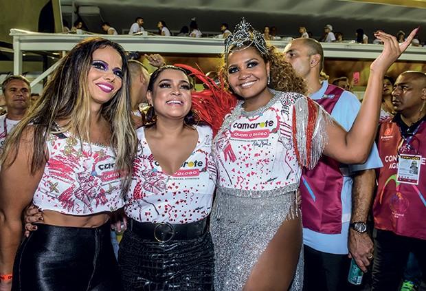 Viviane Araújo, Preta Gil e Gaby Amarantos (Foto: Fabio Cordeiro/ QUEM)