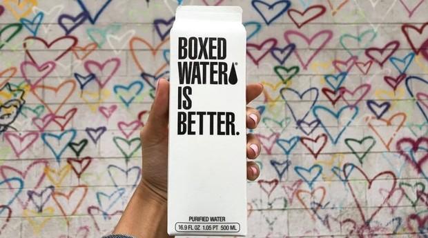 agua na caixa box (Foto: Reprodução/Instagram)