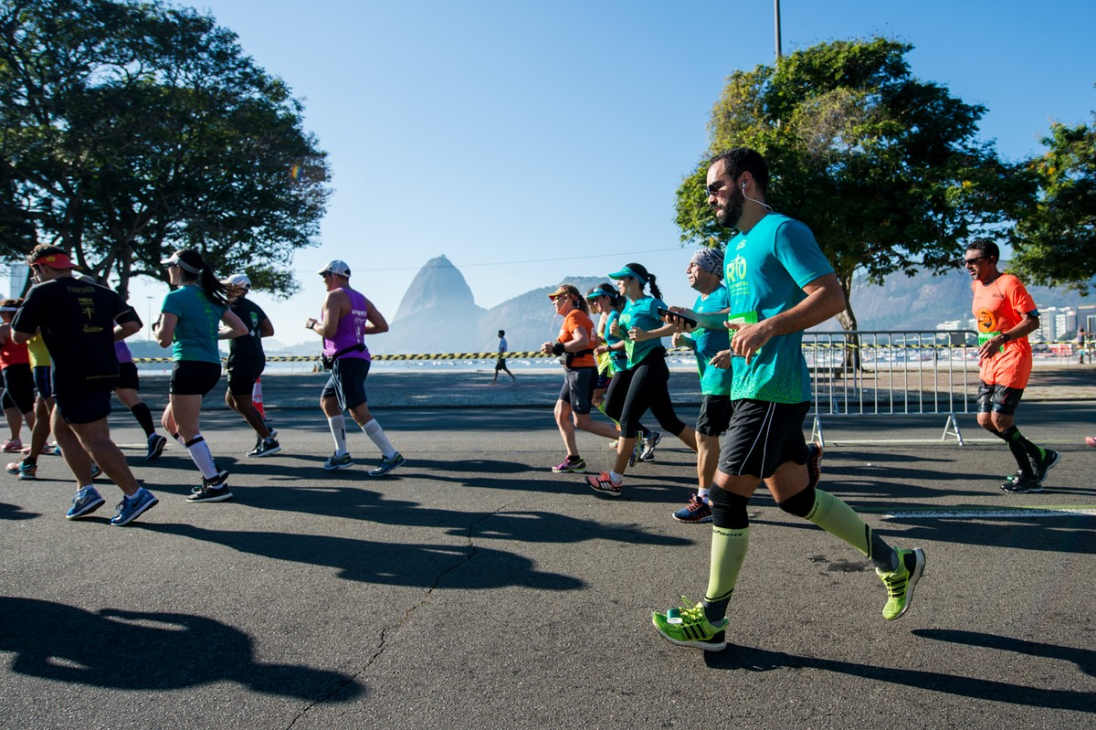Corredores elegem o quilômetro mais especial dos 42 da Maratona do Rio  94f551dfe6cb5