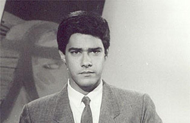 William Bonner ficou atrás da bancada do dominical até 1991 (Foto: Reprodução da internet)