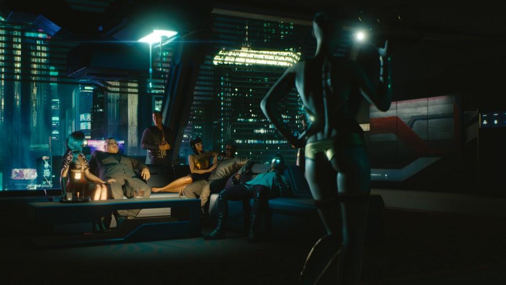 Cyberpunk 2077 tem temática adulta (Foto: Divulgação/CD Projekt Red)